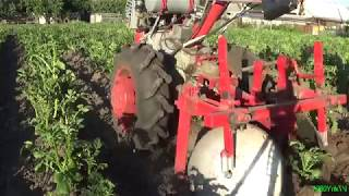 Dimensions cultivator EUROPACK + SECOND hilling potatoes.