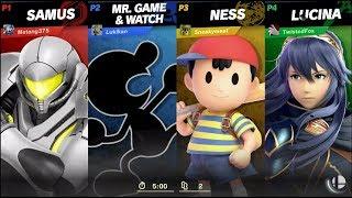 Super Smash Bros. Ultimate Online Match 85