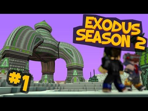 Minecraft - EXODUS - Season 2: AN INTERRUPTION IN SPACE Part 1
