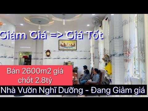 T667❤️🌸 Bán Nhà vườn Nghĩ Dưỡng 2600m2 giá 3tỷ ở Xã Bình Trưng, CT, Tiền giang.