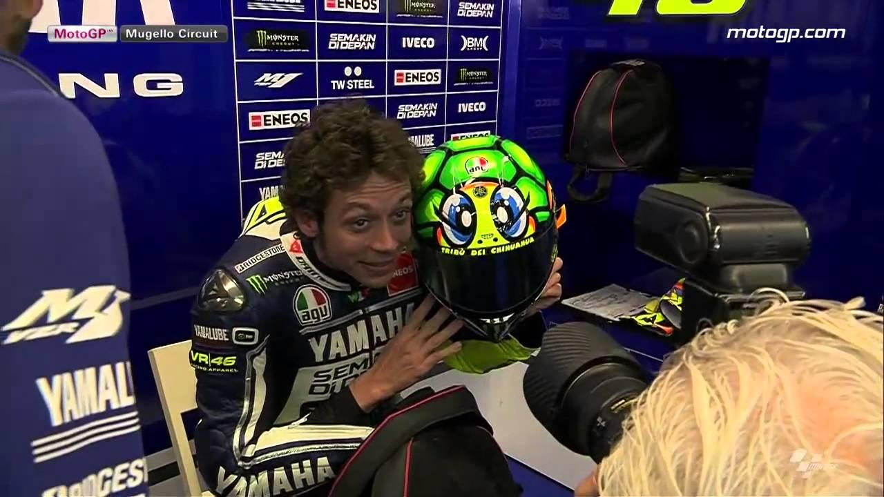 Rossi Turtle Helmet