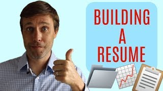 Useful Tips on How to Build the Perfect Resume or CV