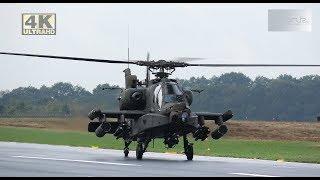 [4K] Plane Spotting at Spottersday Kleine Brogel Air Base 7-9-2018 : Great Airshow arrivals