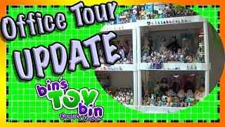 Bins Toy Bin Family Vlogs: New Office Tour Update! We show how our Office Looks in May 2015!