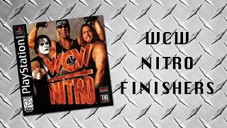WCW Nitro Finishers