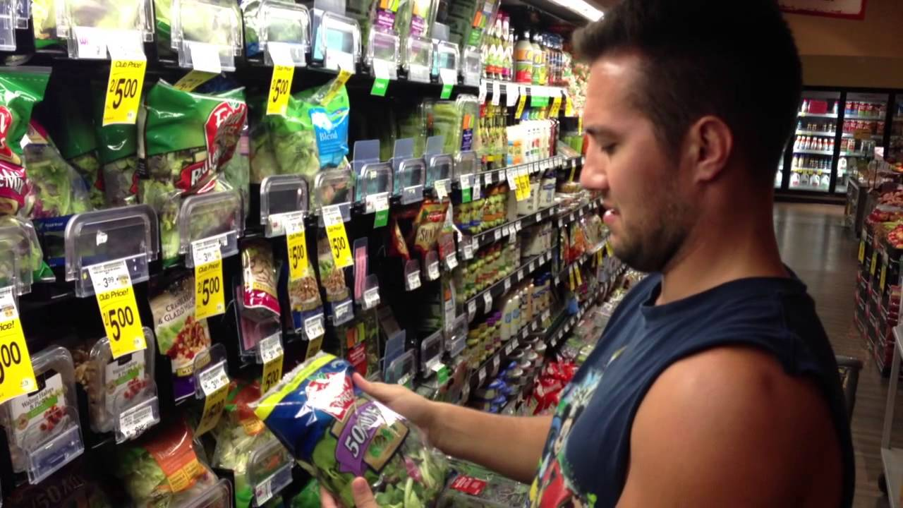 What Guys Think About While Grocery Shopping Youtube