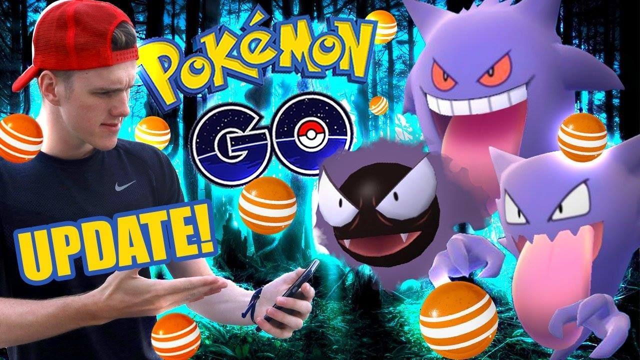 Pokemon Go - THE HALLOWEEN UPDATE! - YouTube