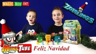 Especial Manualidades gorritos Navidad para Juguetes Zomlings en el  canal MikelTube en Español