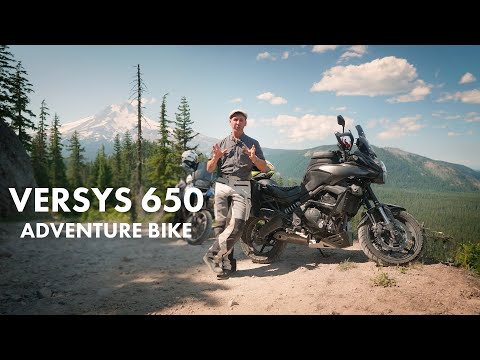Versys 650 Adventure Bike - Modifications & Accessories