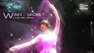 WJSN(우주소녀 Cosmic Girls) - Secret(비밀이야 ) Live mix 26in1 / Stage mix / Compilation