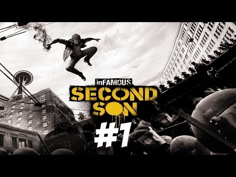 Lets Play Infamous Second Son: Episode 1 | Welcome to Washington |