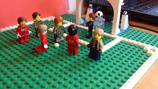 Lego UEFA Nations League Spain vs Croatia