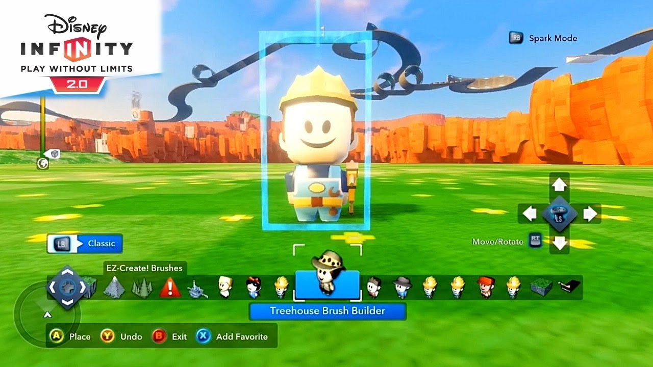 Disney Infinity   Character Builds