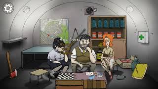 Моё первое видео про выживание бункере