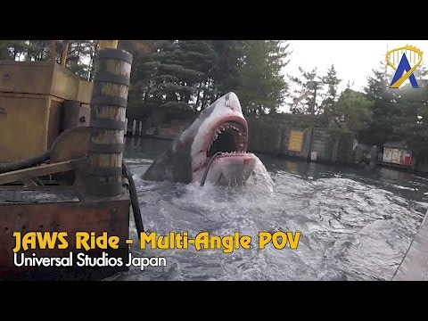 Jaws Ride at Universal Studios Japan - Multi-Angle POV