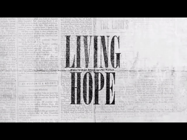Living Hope (Official Lyric Video) - Bethel Music | VICTORY