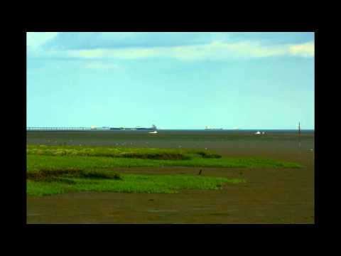 Time Lapse - Southend Pier from Two Tree Island