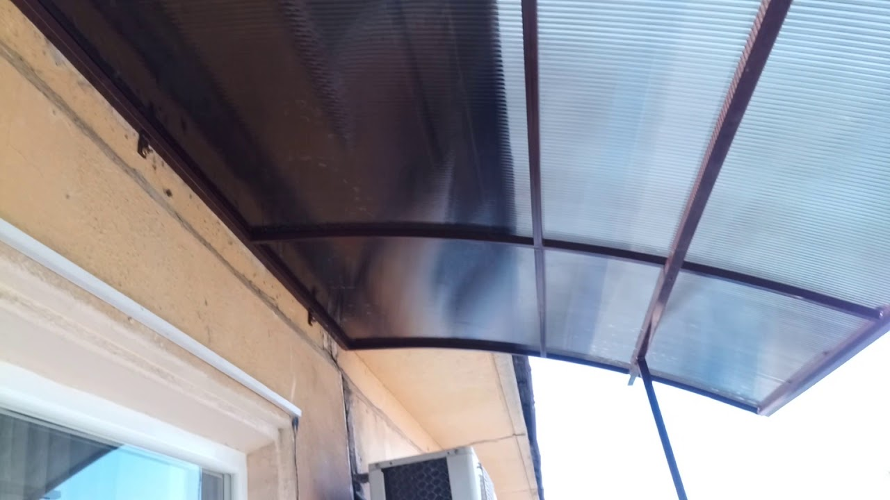 Как своими руками сделать козырек на балконе фото 770