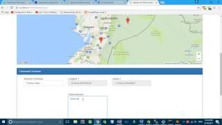 CRUD Proyecto GIS, ASP.NET App, Google Maps, Geoserver, Postgis, Open layers