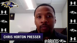 Chris Horton Talks About Improving Return Game | Baltimore Ravens