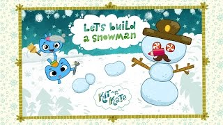 Kit^n^Kate! Let's build a snowman for iOS (Available in U.S.)