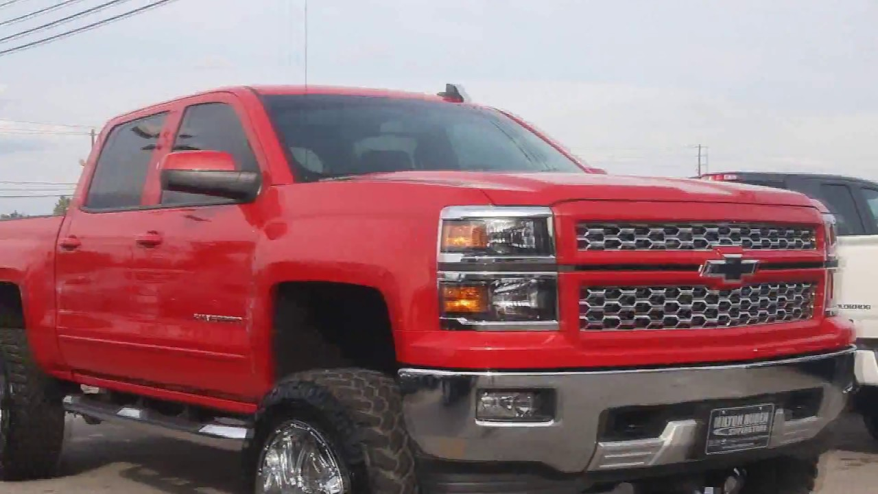 2014 Chevy Silverado 6 Inch Fabtech Lift On 35s Youtube