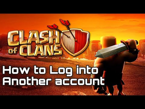 HOW TO LOG IN ANOTHER ACCOUNT IN CLASH OF CLANS ---SUPERCELL ID