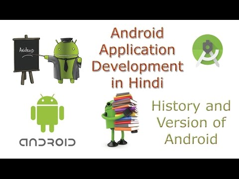 Learn Android Tutorial Application Development in Hindi 2 Version of Android and History