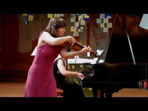 Maurice Ravel - Tzigane, Joanna Kamenarska - Violin, Fumiko Shiraga - Piano