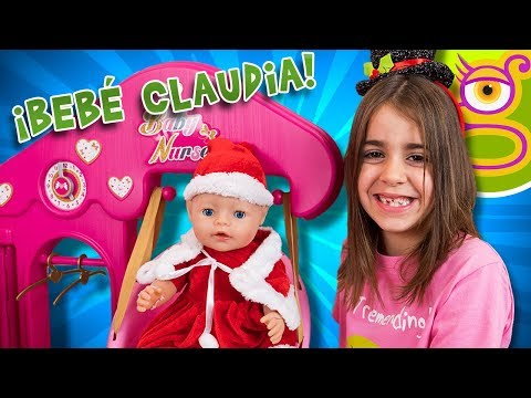 Rutina de la Bebé CLAUDIA en la Casa de los Bebés de Smoby