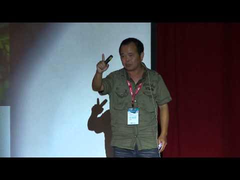「人生就像調色盤,黑白彩色掌握在自己手中」   榮鈐 田   TEDxChiayi