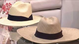 Sombreros Aguadeños de don José Samuel Hurtado, en Muy Femenino.