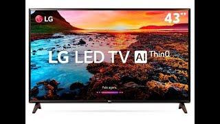 Como Baixar E Entrar Nos Aplicativos Da Smart Tv LG 43 AI ThinQ 43LK5700 Totorial