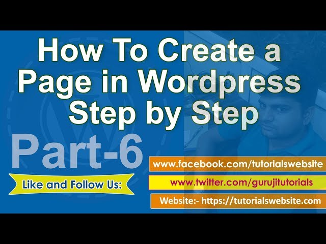 wordpress tutorial in hindi step by step- Part-6: How to set up a Home Page in wordpress