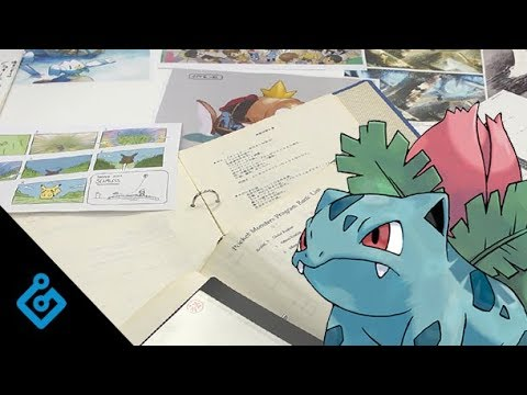 An Exclusive Look At Pokémon's Early Design Documents