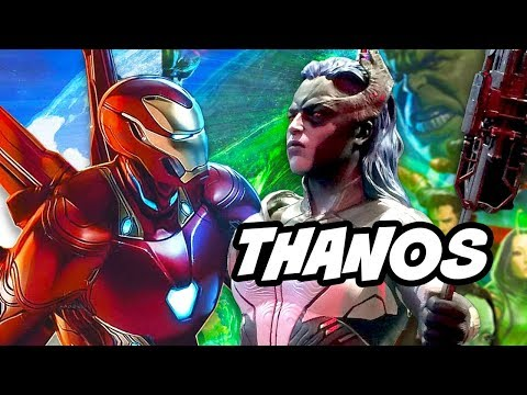 Avengers Infinity War Thanos Black Order Preview - Powers and Abilities