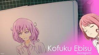 Kofuku Ebisu Drawing // Noragami