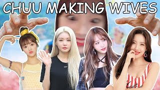 Chuu Making Wives Out Of Sunmi, Chung Ha, Hani, and Yooa on Running Girls