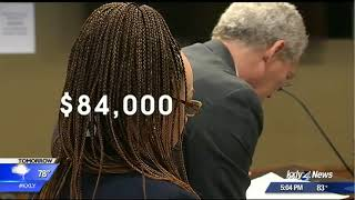 Nkechi Diallo, formerly Rachel Dolezal,  appears in court for welfare fraud