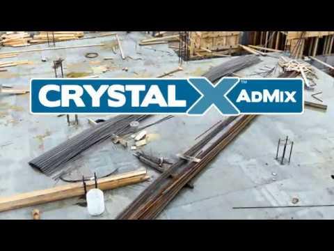 Crystal X Concrete Waterproof and Self Healer