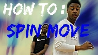 How to do a spin move / the easiest way