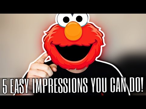 HOW TO DO 5 EASY IMPRESSIONS YOU CAN DO!!