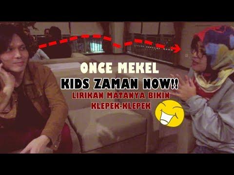 ONCE MEKEL : SAYA KIDS ZAMAN NOW, SUKA ISYANA SARASVATI || EKSKLUSIF VIDEO EPS. 1