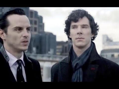 Rooftop Showdown Sherlock Series 2 Bbc Youtube