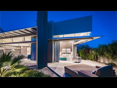 Behind the Gates - Contemporary Modern Desert House Palm Springs