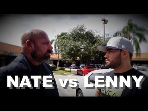 NATHAN vs LENNY   BUFFET CHALLENGE