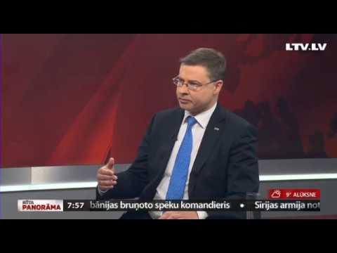 Intervija ar Valdis Dombrovskis