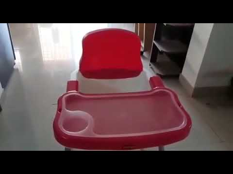 LuvLap 4 in 1 Convertible High Chair Cum Booster Seat