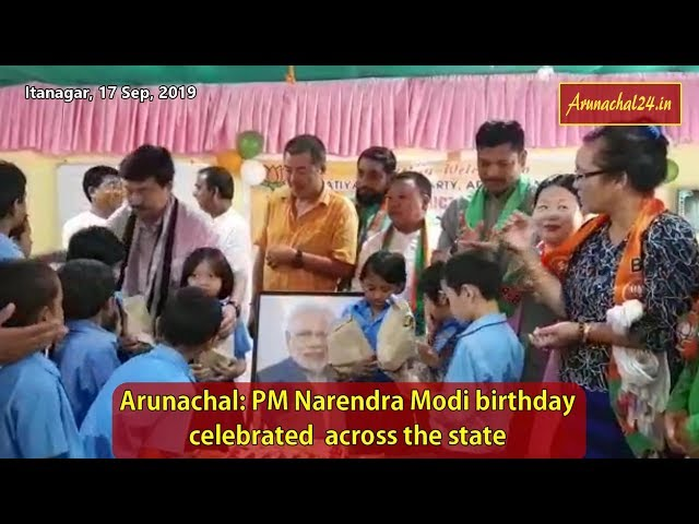Arunachal- PM Narendra Modi birthday celebrated across the state