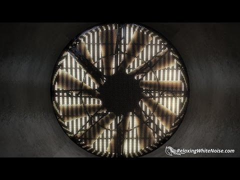 Giant Fan White Noise | Powerful Sound for Focus on Homework, Studying, Office Work | 10 Hours